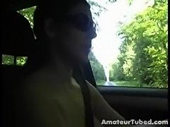 Nude Car Driving