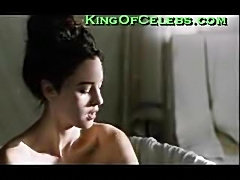 Monica Bellucci bath and sex scene