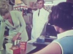 vintage 70s german - Die glatte Diebin - cc79