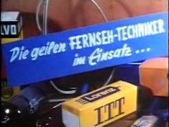 vintage 70s german - Die geilen Fernseh-Techniker - cc79