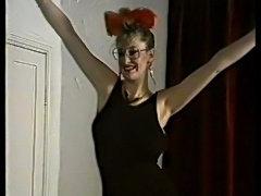 Debbie Quarrel stripping.