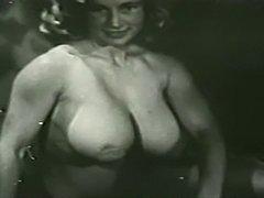 Virginia Bell - Pasties on Her Humongous Breasts