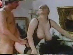 busty vintage 4some (no sound)