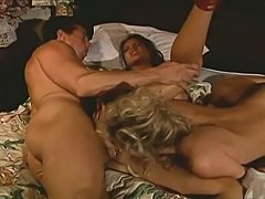 Kylie Ireland, Nici Sterling + Peter North