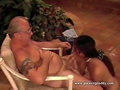 Ayako-Tamura Wants Old Jesses Cock