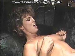 Retro lesbian deep finger fucking