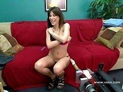 Pornstar Alexa Nicole live fucking machine cam
