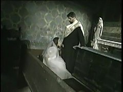 Bride to be fucked by priest  free