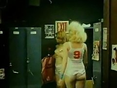 Classic FFM Locker Room Threesome