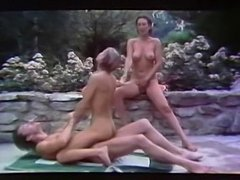 Two Groups Vintage Sex Party