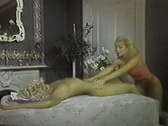 Amber Lynn And Nina Hartley W-Pink TV 2 Lesbian Scene