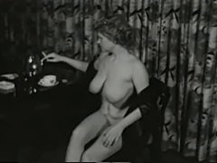 Saucy Smokin MILF from 1950's