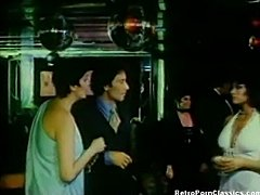 Retro Blowjob in Limo