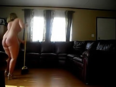 Yeah! Mom cleans the house naked! - xHamster.com
