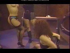 Retro Lesbian Group Spanking lesbian girl on girl lesbians
