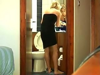 A cute little blonde from Cony's collection here. Itstarts a little slow but soon builds into some HJ/BJaction, then leads into some fucking in variouspositions before our cameraman lets lose his load overthis cute blonde to finish