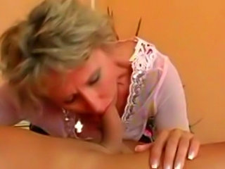 Mature couple have fun and sex.