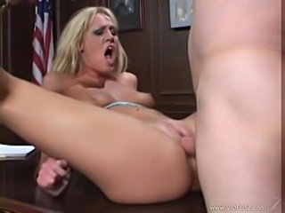 Lusty jailbird getting fucked by the warden
