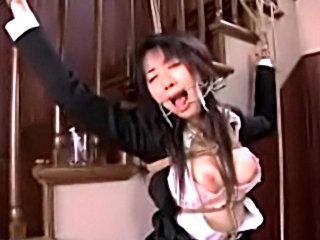 Amateur Asian Face Bondage