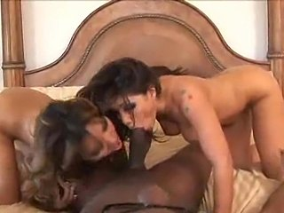 Lana Croft and Britney Stevens are fucking one man
