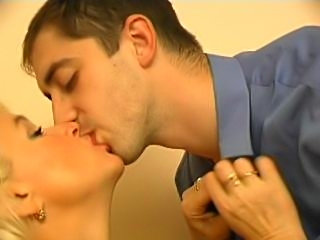 Sexy mature teacher and young guy