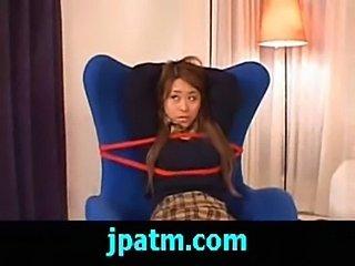 Kanoka japanese beauty gets a hard fucking by two guys clip  free