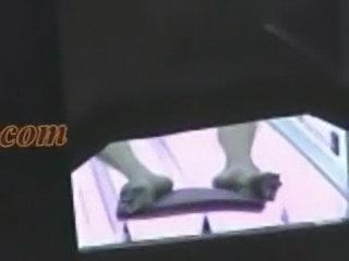 Voyeur camera - mulher pelada se masturba no bronzeamento fl free