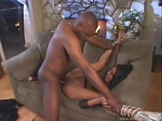 Black slut boned by big black cock