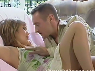 Intense sex with petite girl