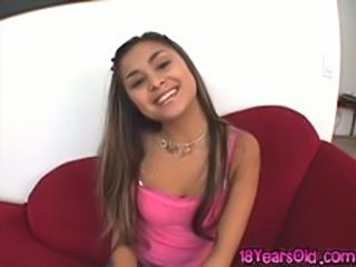 Cute petite filapina teen Michelle Maylene sucking and riding huge cock