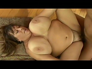BBW babe gets some thrusting action.