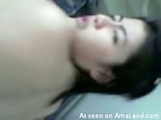 Video of a Korean GF fucked in the butthole