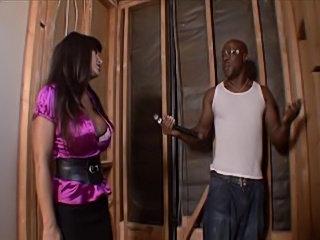 Lisa Ann and a black dude
