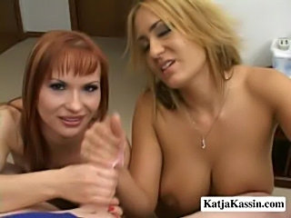 Katja kassin and trina - katja and trina shares on cock  free