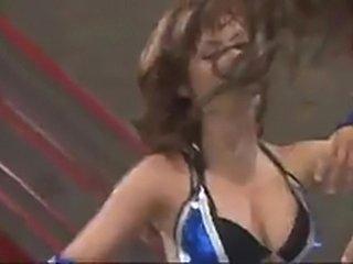 Maria Ozawa fighting another superhot Asian babe