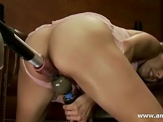 Warm pussies and tight asses ripped into pieces by nasty fuck machines