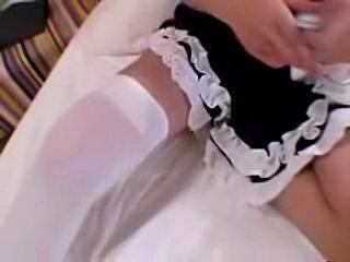 Asian gal in sailor & maid uniform