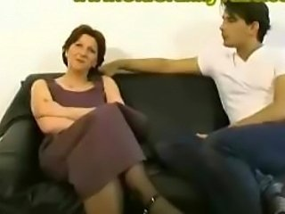 Mom Son Creampie