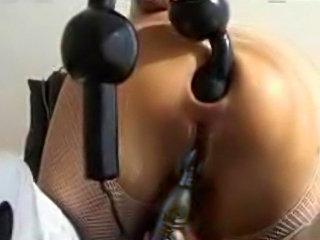 Harsh sex Toy Anal Pleasure