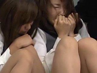 Japanese bank robbery orgy scene