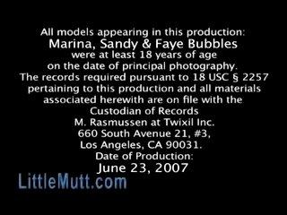 Marina Sandy Faye Bubbles - LittleMutt