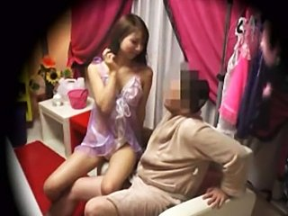 Asian cutie fucked in a hot massage