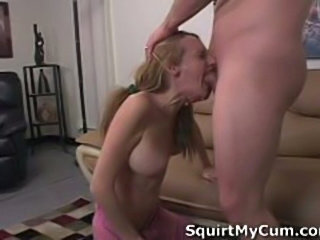Amateur Honey Heather Pink Enjoys Sucking Cock followed by fucking