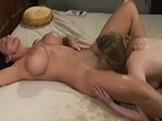 Two middle-aged big-breasted Dutch girls are going wild in the bed