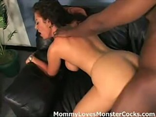 Single mom gets fucked hard in the ass