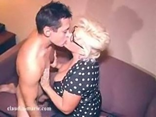 Huge Tit Cock Sucking Whore Claudia-Marie Displays Her Skills