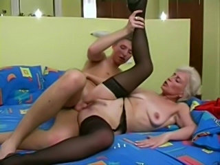 Mature blonde fucked  free