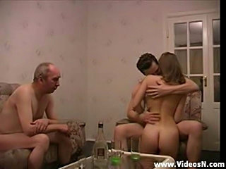 Thresome with old man and young boy  free