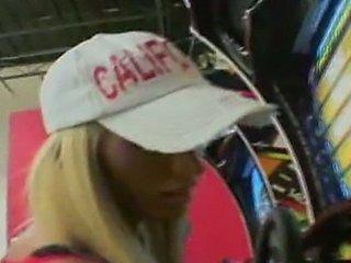 lichelle marie race car fan