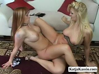 Katja kassin - naughty lesbian affair  free